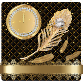 App Golden feather diamond theme APK for Windows Phone