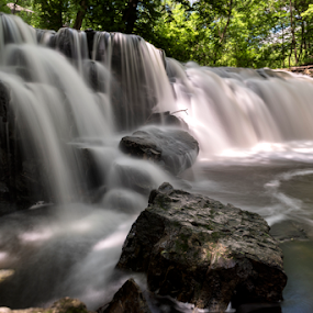 Minneopa by Andy Chow - Landscapes Waterscapes ( minnesota waterfall, waterscape, waterfall, minneopa,  )