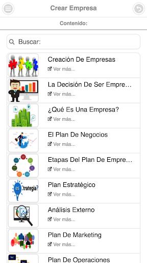 Curso de Creación de Empresas screenshot 2