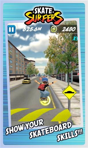 Skate Surfers Free screenshot 21
