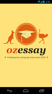 OzEssay - screenshot