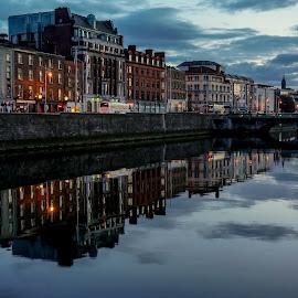 Dublin, Ireland by Elena Lashneva - City,  Street & Park  Vistas
