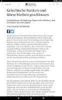 Screenshot of az Solothurner Zeitung E-Paper
