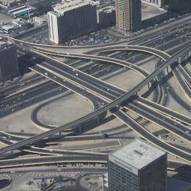 where to go by Rahul Verma - City,  Street & Park  Skylines ( dubai, bridge, burj khalifa )