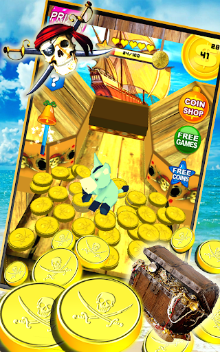 Pirates Coin Dozer - screenshot