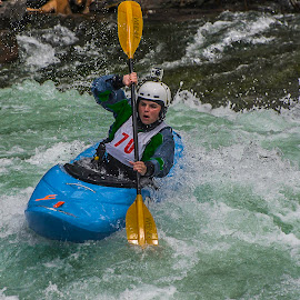 whitewater fun by Duane Deboer - Sports & Fitness Watersports