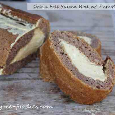 Grain Free Spiced Rolls with Pumpkin Filling