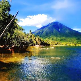 Larantuka by Yohanes M Wain - Landscapes Mountains & Hills ( flores, indonesia, larantuka, beach )