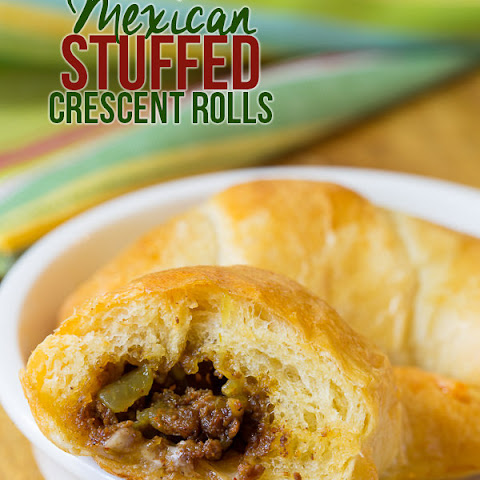 Mexican Stuffed Crescent Roll