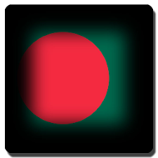 Bangladesh flag 3D Wallpaper