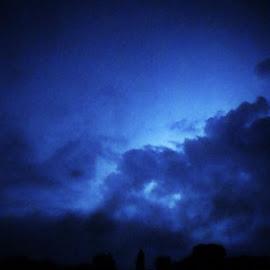 Amazing  by Steve Valenzuela - Landscapes Weather ( amazing, clouds, lightning, night, storm )