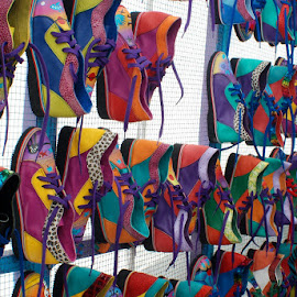 The Color of Shoes by Nikki Loehmer - Artistic Objects Clothing & Accessories