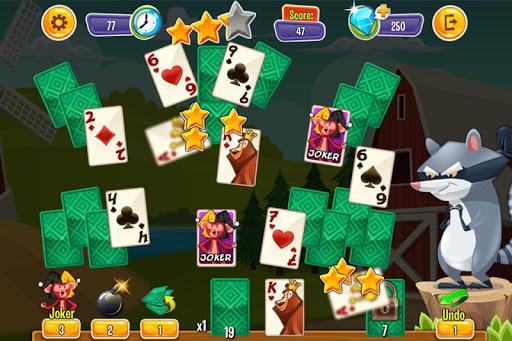 Playful Animal Solitaire - screenshot