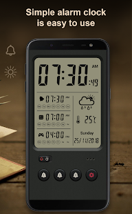 Alarm clock Pro Screenshot