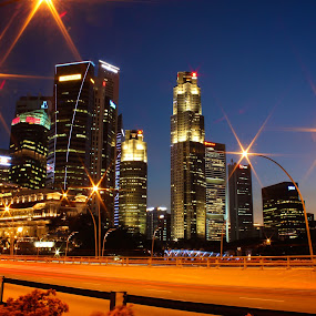 Central Business District by Kai Jian - City,  Street & Park  Skylines ( skyline, cityscape, singapore, central business district )