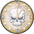 Skulls Analog Clock with Alarm APK for Kindle Fire