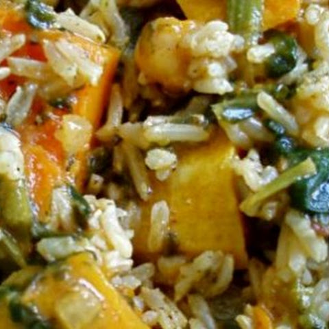Indian Butternut Squash Coconut Curry