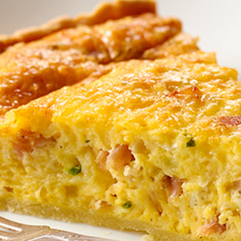 Ham, Egg, and Cheese Pie