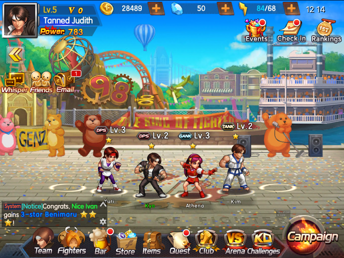 KOF98 ULTIMATE MATCH ONLINE Screenshot 5