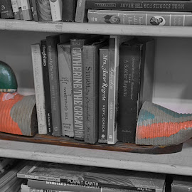 Bookends  by Lorraine D.  Heaney - Artistic Objects Still Life