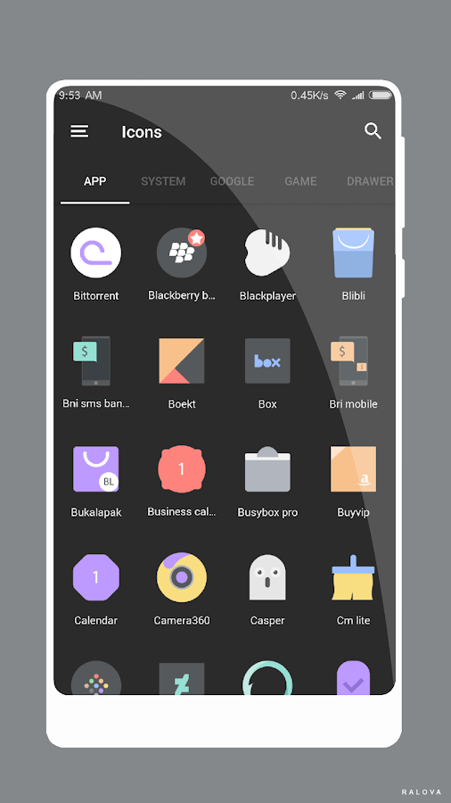 M A M B O Icon Pack Screenshot 6
