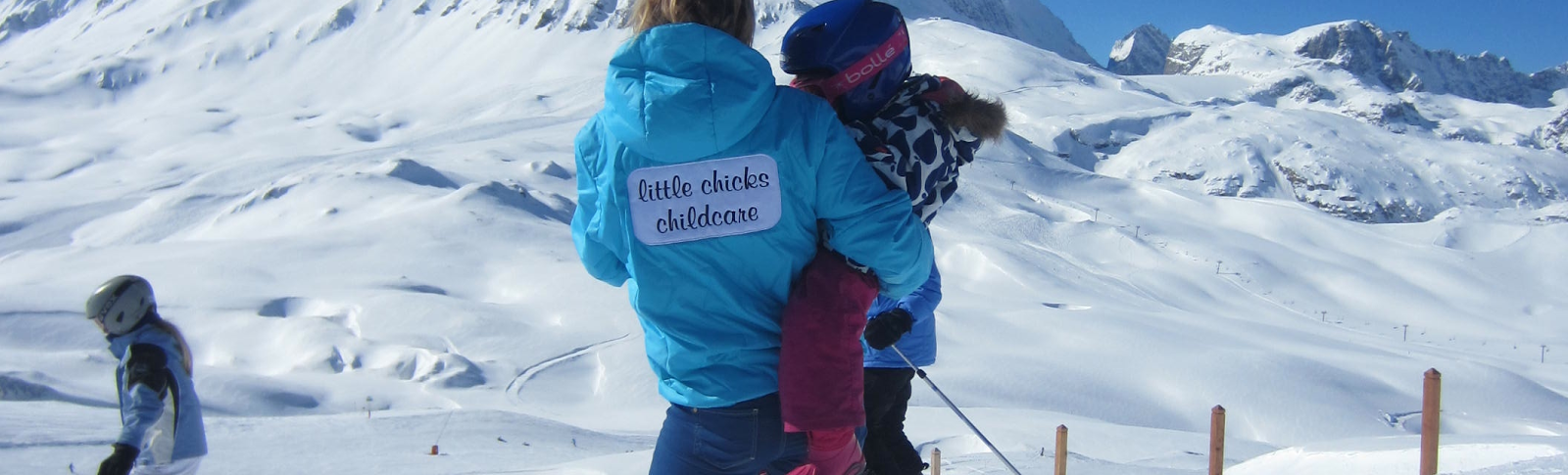 val d'isere childcare MERIBEL