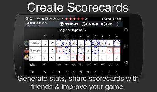 UDisc+ Disc Golf App - screenshot