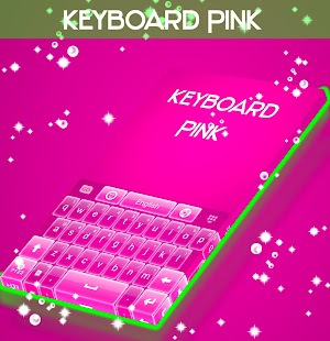 GO Keyboard Pink Glow - screenshot