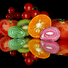 fruits,vegetables and candys by LADOCKi Elvira - Food & Drink Fruits & Vegetables ( fruits )