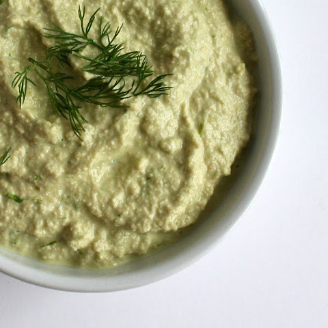 Cucumber and Chives Cashew Dip