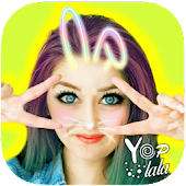 Yoplala sweet filter camera to snap video & photo icon