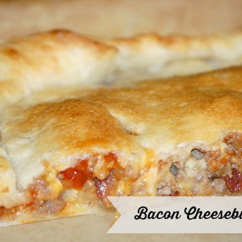 Bacon Cheeseburger Calzones