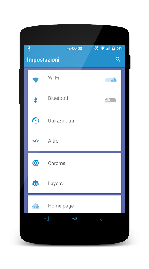 OceanSapphire - Substratum Screenshot 1