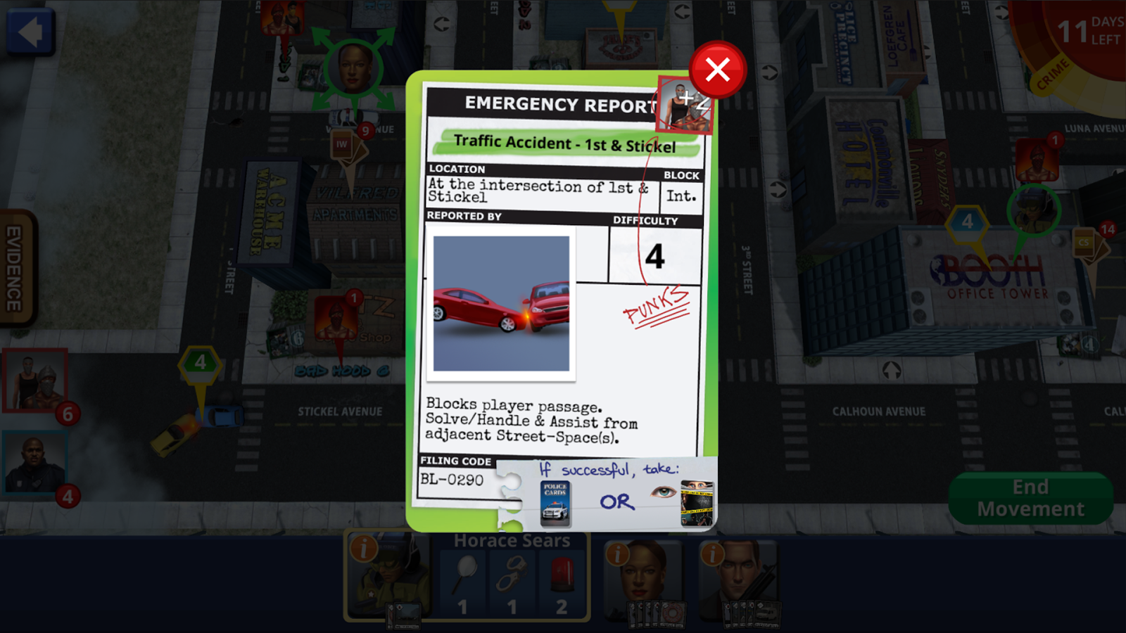 Police Precinct: Online Screenshot 4