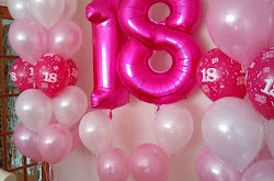 Large foil numbers - available in various colours
