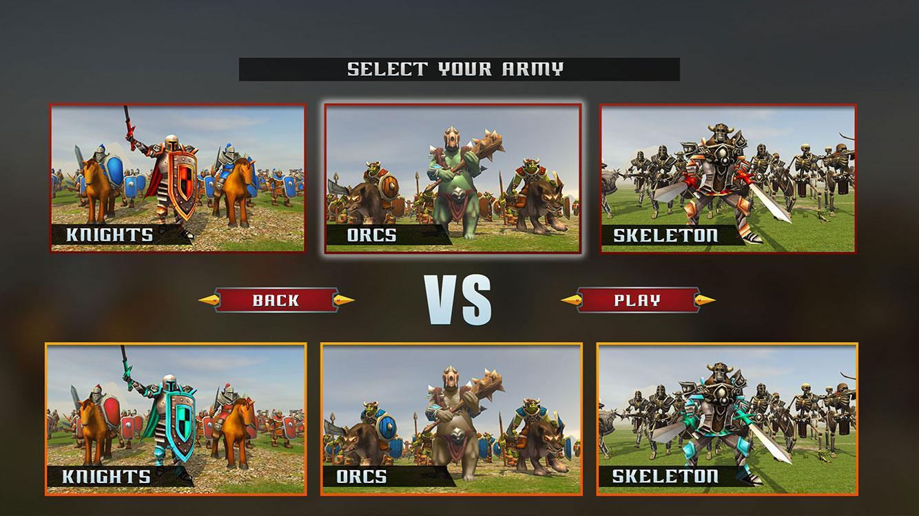 Ultimative epische Schlacht - Schloss Verteidigung android spiele download