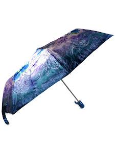 """Зонт """"Компакт L"""", 110см, сине-фиолетовый"""