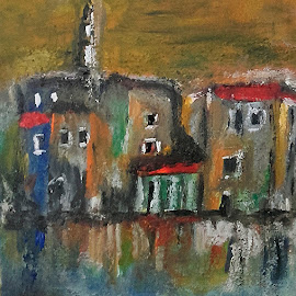 Trogir. Cro by Vanja Škrobica - Painting All Painting
