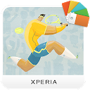 XPERIA™ Tennis Theme
