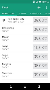 Free Download HTC Clock APK for Samsung