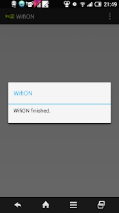 WifiON - screenshot