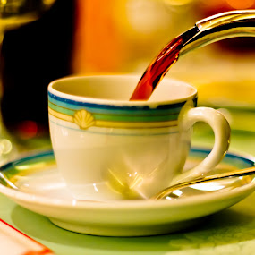 Nectar of the Gods by Bill MacLachlan - Food & Drink Alcohol & Drinks ( cup, caffeine, beverage, saucer, drink, coffee, celebration )