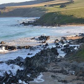 rugged coastline by Sue Norton - Novices Only Landscapes