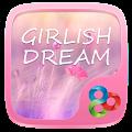 Girlish Dream GO Launcher Theme APK for Bluestacks