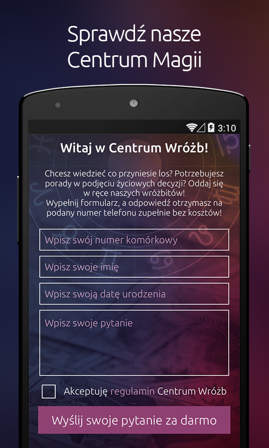 Centrum Wróżb Screenshot 1