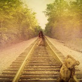 Where is my childhood? by Ilkgül Çaylak - Digital Art Things ( photography )
