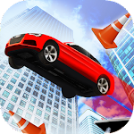 car stunt city roof jumping 3d APK Image