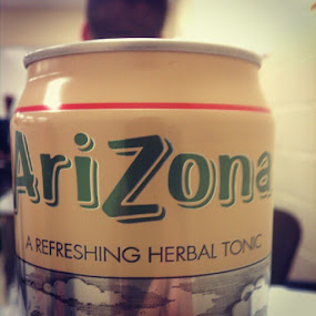 Best drink ever! #Arizona #tea #herbal #tonic #rx #energy #drink by Blake Coln - Instagram & Mobile Instagram