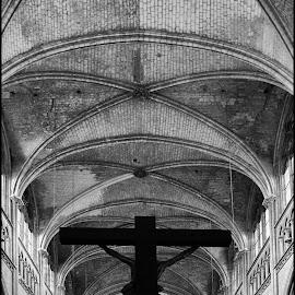 Rouen by Jani Novak - Buildings & Architecture Other Interior ( church normandie rouen )