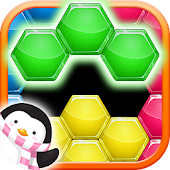 Hexa Puzzle HD - Hexagon Match Game of Color Block APK for Bluestacks